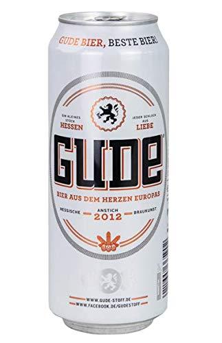 GUDE BIER Dose - Bier aus dem Herzen Europas (1 x 0,5l)