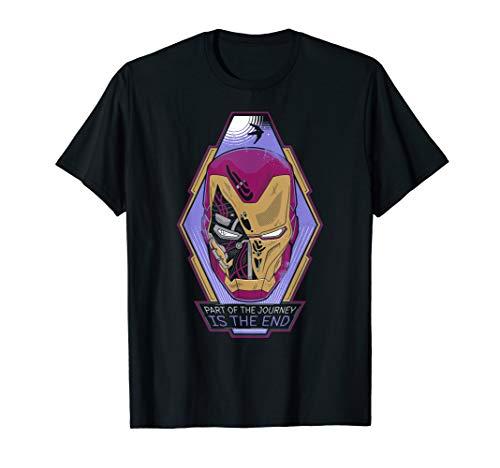 Marvel Avengers: Endgame Iron Man Tony Stark Journey T-Shirt