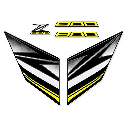 PARA Z800 Z 800 2013 2014 2015 2016 2016 Etiqueta engomada de la motocicleta entera Pegatina de automóvil Pegatina de carenaje Etiqueta de carreras Etiqueta engomada verde Calcomanías Pegatinas Portát