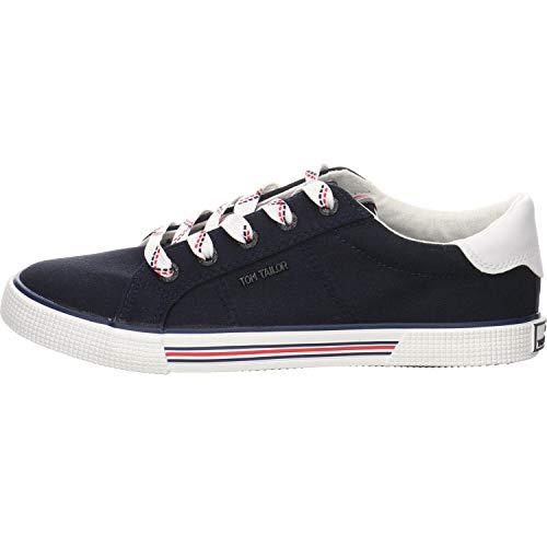 Tom Tailor Mädchen Leinenschuh Sneaker blau Gr. 37
