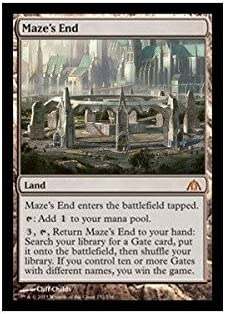 Sales for sale Magic The Gathering - Maze's Max 51% OFF End Dragon's Maze