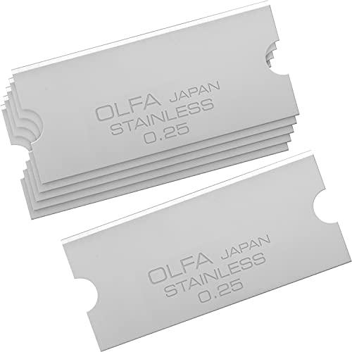 オルファ OLFA GスクレーパーSLIM替刃ステンレス XBGSCR-SS 6枚入
