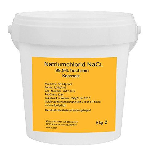 Natriumchlorid NaCl 5kg - hochrein