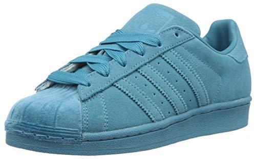adidas Mujer Superstar W Zapatillas Azul, 40