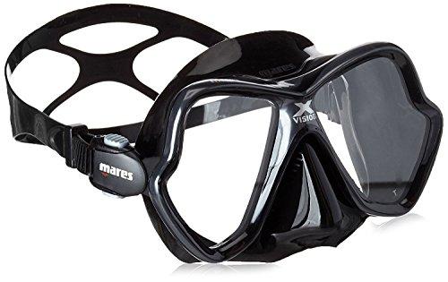 Mares Erwachsene Tauchmaske X-Vision 14, Black, BX