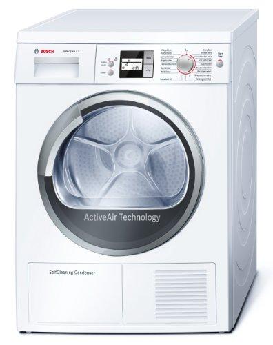 Bosch WTW86563 - Secadora (Independiente, Frente, Bomba de Condensación/Calor, 7 kg, Mezclar, Ropa de deporte, Programado, Lana, 65 Db) Color blanco