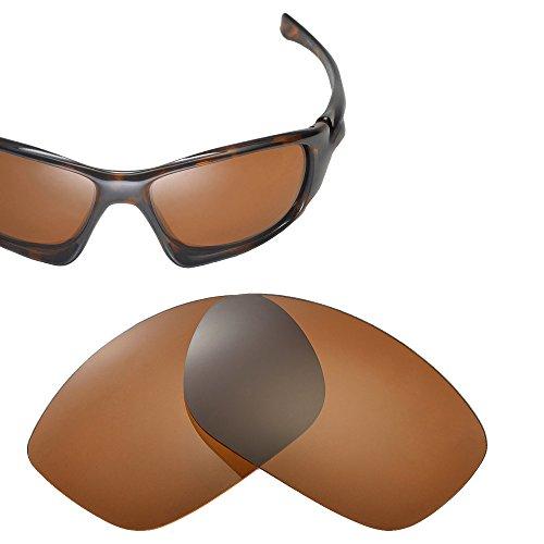 Cofery Ersatzgläser für Oakley Ten Sonnenbrillen – Verschiedene Optionen erhältlich, Unisex, Brown - Polarized, Einheitsgröße