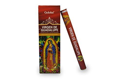 Bosalla LAMARE Incienso Perfumado Virgen de Guadalupe (6 Tubos x 20 Varillas)