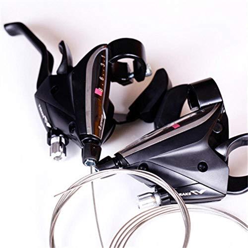 Nice-Doormats Bicicleta de montaña de 24/27 velocidades, transmisión de dial de dedo integrada, transmisión de bicicleta, dial de dedo, dial de dedo integrado