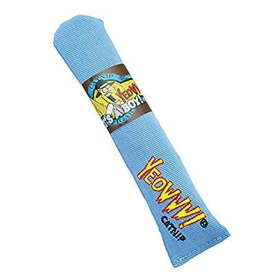 """Yeowww! Catnip Toy, """"It's a Boy!"""" Blue Cigar"""