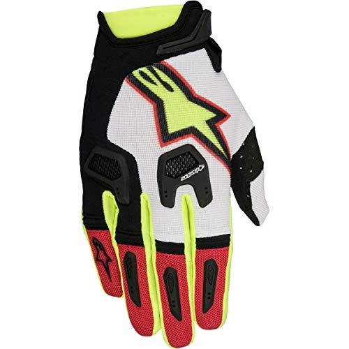 Alpinestars 2017 Motocross/MTB Handschuhe - Racefend - rot-weiß-schwarz-neongelb