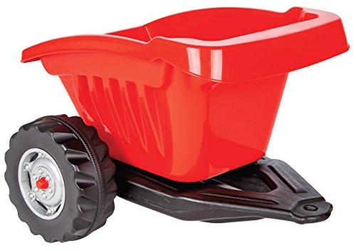Jamara 460270 - Ride-on Anhänger für Traktor Strong Bull - 14mm Anhängeröse, Inkl. Kippmulde