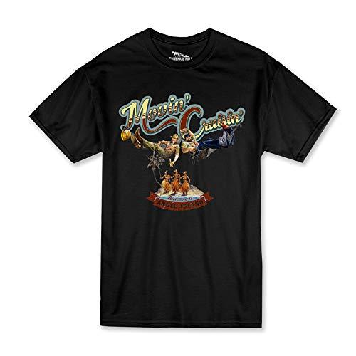 Terence Hill Bud Spencer T-Shirt Herren - Zwei ASSE trumpfen auf - Movin Cruisin (schwarz) (3XL)