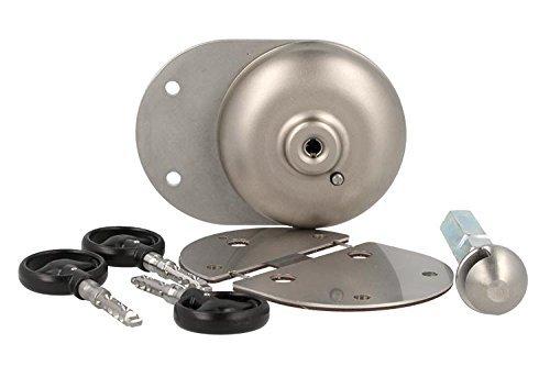 Xvan XVA1 Cadenas de protection antivol pour le compartiment de charge du véhicule commercial avec cadenas unique anti-perçage et anti-coupure