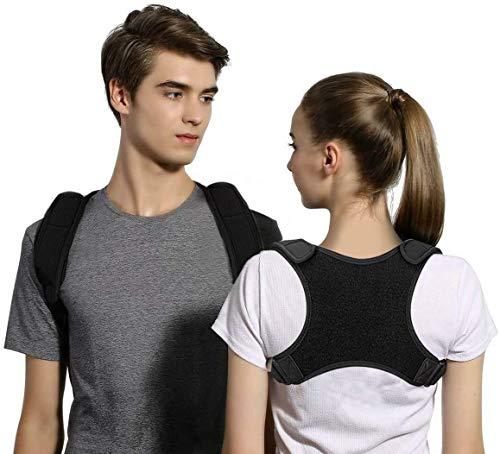 Geradehalter zur Haltungskorrektur Haltungstrainer Rücken Haltungsbandage mit verstellbare Größe für Männer und Frauen, verstellbar & atmungsaktiv (M)