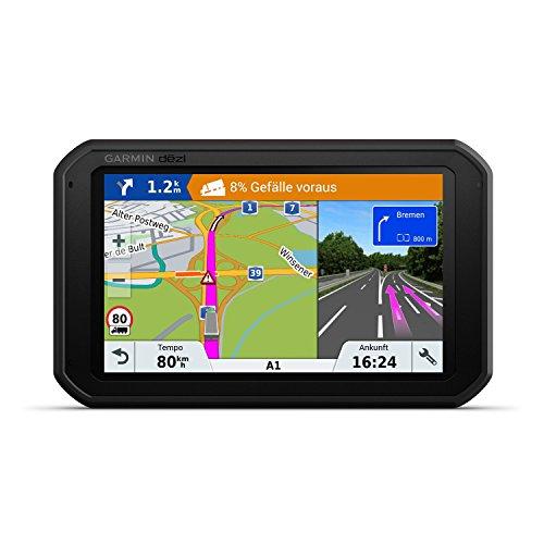Garmin dezl780 Full EU LMT-D Navigationshandgerät - Europakarte inklusiv lebenslangen Kartenupdates, LKW-spezifische Routing und Funktionen Schwarz