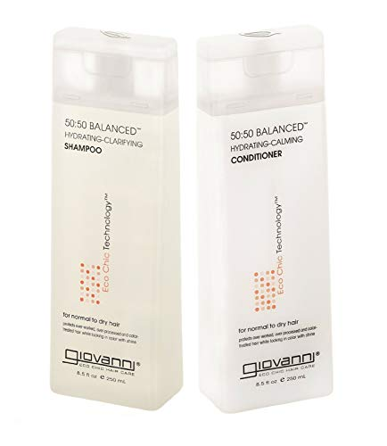 Giovanni 50:50 Balanced Hydrating Calming Shampoo + Conditioner Set