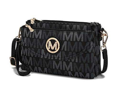 MKF 3-in-1 Bag: Crossbody for Women, Wristlet, Belt Bag — Adjustable Shoulder Strap Purse Handbag