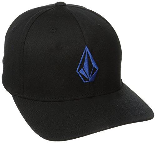 Volcom Full Stone Xfit casquette de Baseball Homme, Noir (Black), Small (Taille fabricant: S/M)