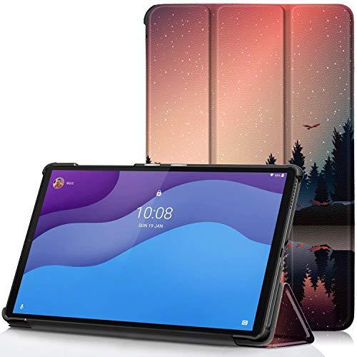 TTVie Cover per Lenovo Tab M10 HD (2nd Gen), Custodia Ultra Sottile e Leggero con Funzione Auto Sveglia/Sonno per Lenovo Tab M10 HD (2nd Gen) Tablet Display 10.1' HD Modello 2020, Crepuscolo