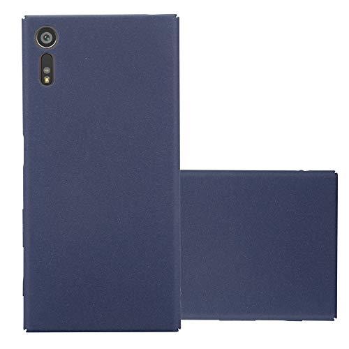Cadorabo Funda para Sony Xperia XZ/XZs en Frosty Azul - Cubierta Protección de Plástico Duro Super Delgada e Inflexible con Antichoque - Case Cover Carcasa Protectora Ligera