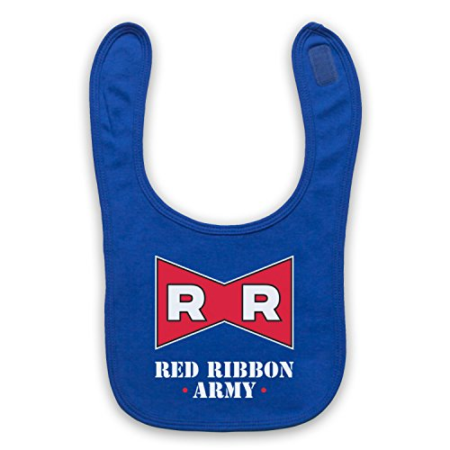 Dragon Ball Z Red Ribbon Army Bavoir de Bebe, Bleu