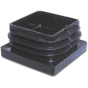 100 x Lamellenstopfen Vierkantrohrstopfen 60 x 60 mm Stopfen SCHWARZ 0. Außen