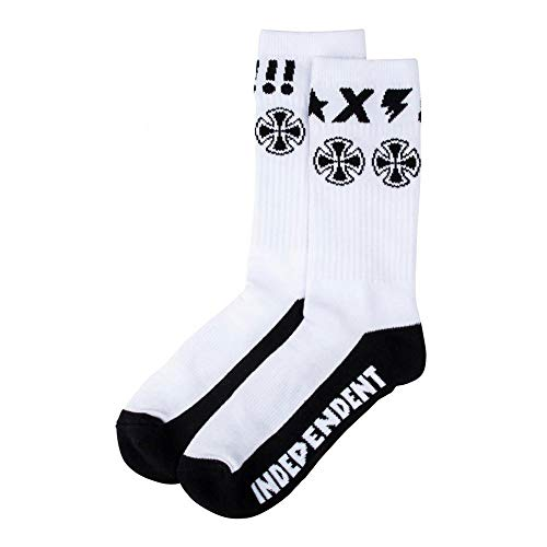 Independent Socks Ante Sock White