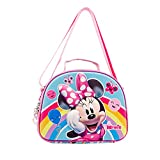 KARACTERMANIA Minnie Mouse Rainbow-Bolsa Portameriendas 3D