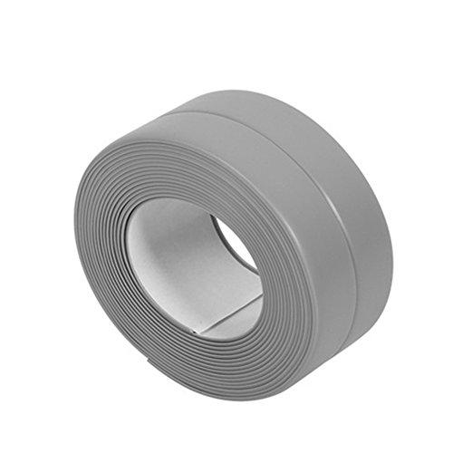 Gemini Mall Dichtungsband / Fugenstreifen, wasserdicht, schimmelfest, selbstklebend, für Bäder, Küchen und WCs geeignet, 38mm x 3,2m