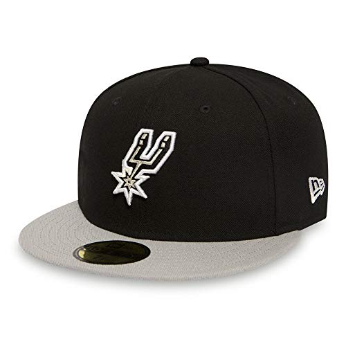 New Era - San Antonio Spurs 59Fifty NBA Team - Original Team Color (Schwarz) - Baseball Cap (7 1/8)