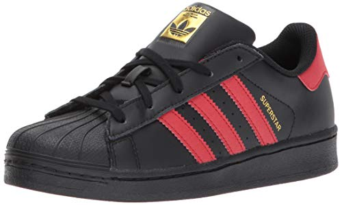 Adidas Superstar Foundation, Zapatillas Unisex Infantil, Negro, 36 2/3 EU