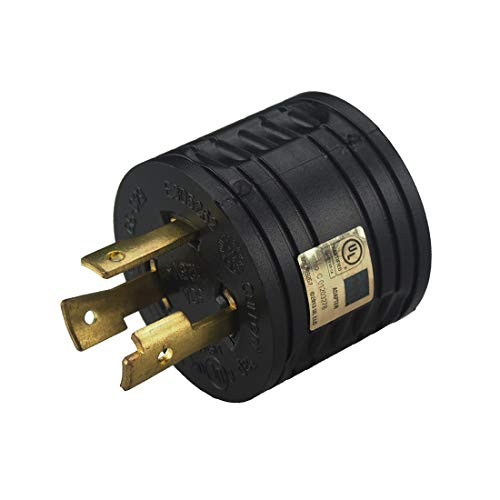RV 30 AMP 3-Prong Generator Adapter...