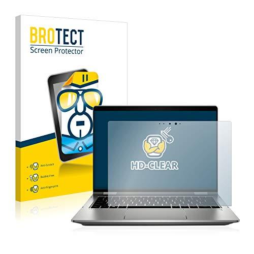 BROTECT Schutzfolie kompatibel mit HP ProBook x360 435 G7 klare Bildschirmschutz-Folie