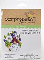 Stamping Bella Cling Stamps-Flowery Gnome