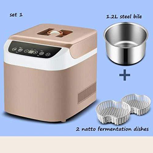1yess Notto eléctrico automático fermentador multifunción Fabricante de Yogur Vino de arroz...