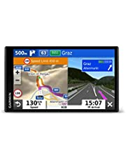Garmin Camper 780 MT-D EU Navi Routenavigatiesysteem. Frameloos Display, 3D-Navigatiekaarten voor Europa, POI's, Spraakbesturing, Zwart