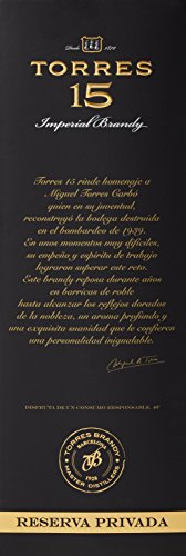 TORRES BRANDY 15 RESERVA PRIVADO - 6