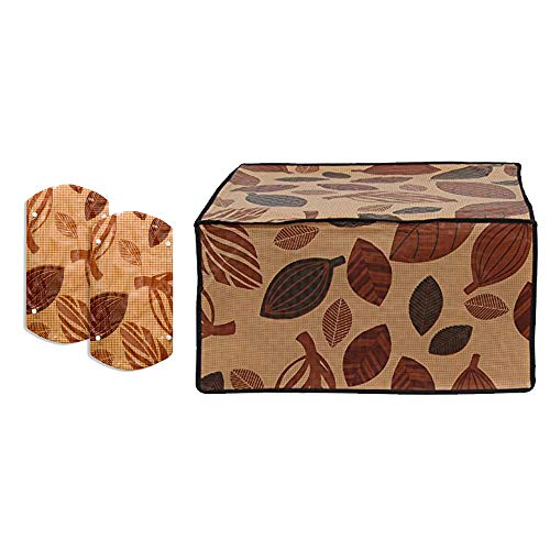 Stylista Microwave Oven Cover for IFB 17 L Solo 17PM MEC 1 (Free Fridge/Oven/Wardrobe Handle Cover)