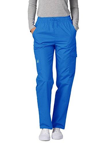 Adar Uniforms Schrubb Pantaloni Medici – Pantaloni Tuta da Donna – 506 – Blu scaffale – S