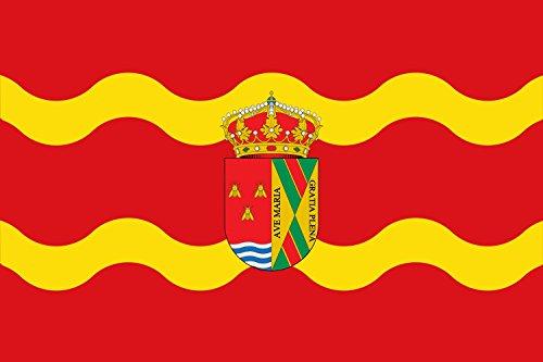 magFlags Bandera Large Paño Rectangular | Bandera Paisaje | 1.35m² | 90x150cm