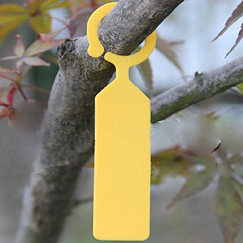 UPKOCH 120 etiquetas de plástico para colgar plantas en el jardín ...