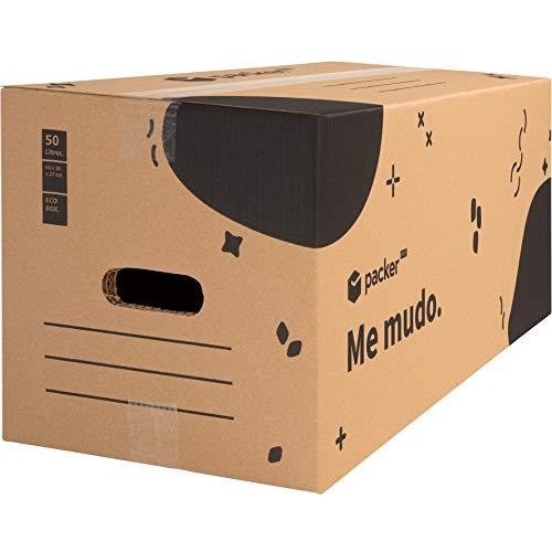 Cajas Mudanzas Carton Marca packer PRO