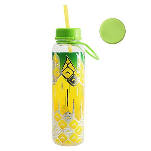 Home Tune - Borraccia per acqua, 200 ml, ananas