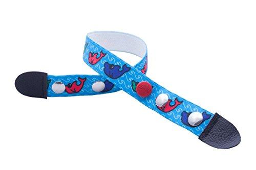 Clip.Ho Clip-Ho-Gürtel, tragbar von Größe 152 bis 164, Motiv Fische
