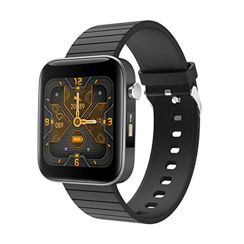 XUEMEI Relojes Inteligentes Monitor De Ritmo Cardíaco Rastreadores De Fitness Medición De La Temperatura Corporal SmartWatch Vs P8 SmartWatch (Color : Black, Size : 1Pcs)