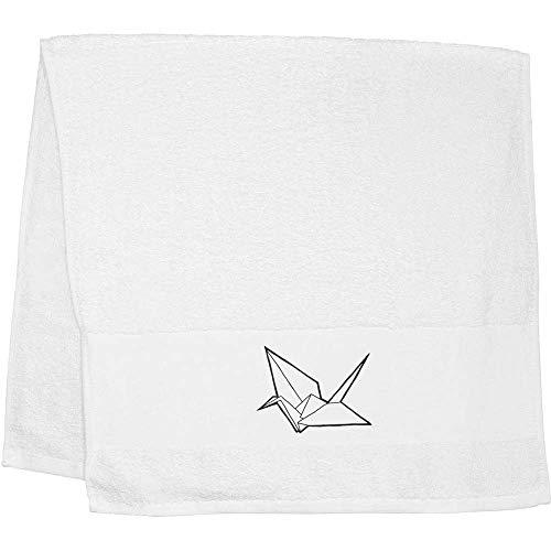 Azeeda 'Origami Schwan' Handtuch / Gästetuch (TL00015178)