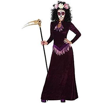 Disfraz para Halloween de Muerte morado para mujer en varias ...