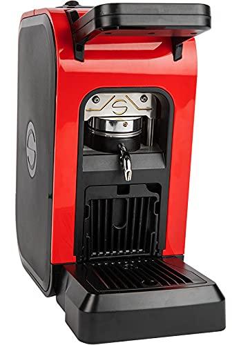 Offerta SPINEL CIAO Colore Rosso Red Macchina da Caffè a cialde ESE 44mm filtro carta + 50 cialde Omaggio Emporio del Caffè