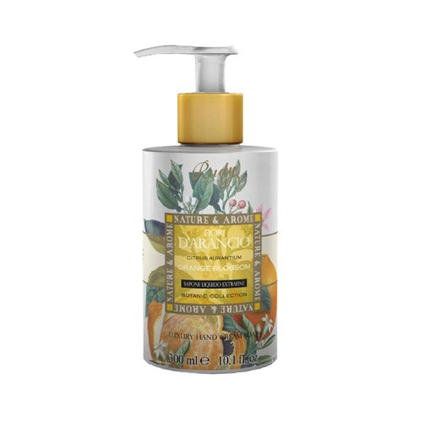 休憩する頑丈週末RUDY Nature&Arome SERIES ルディ ナチュール&アロマ Liquid Soap リキッドソープ オレンジブロッサム